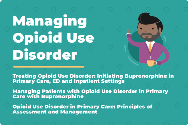 managing opioid use disorder link
