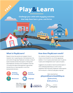 Play&Learn Poster